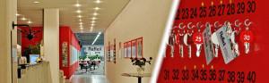 Reflex Fitnessclub - Eingangsbereich