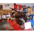 Reitwagen Motorrad-Handel-Service-Selbsthilfe