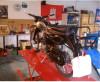 Bild: Reitwagen Motorrad-Handel-Service-Selbsthilfe