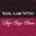 Logo Royal Flush Tattoo u. Schmuck & Mel Rose Place Nageldesign Studio