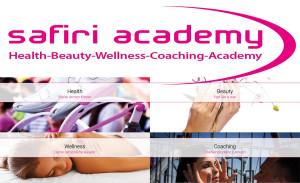 Logo SAFIRI-Nails u. Liliana Lauer Schulungscenter und Nagelstudio