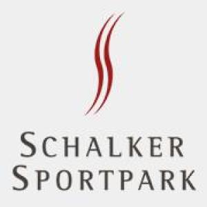 Logo Schalker Sportpark, INJOY, Trampolino, cageball