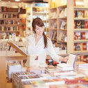 Bild: Schmidsche Buchhandlung in Augsburg, Bayern