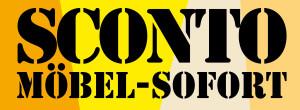 Logo SCONTO SB Der Möbelmarkt