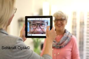 Millimetergenaue Zentrierung Ihrer Brillengläser