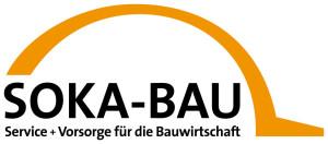 Logo SOKA-BAU Urlaubs- und Lohnausgleichskasse der Bauwirtschaft Zusatzversorgungskasse des Baugewerbes AG