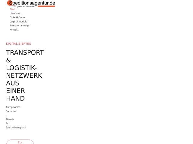 http://www.speditionsagentur.de/