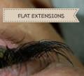 schonende Wimpernverlängerung mit Flat-Extenstions. Die neue Gerneratin der Seidenwimpern.