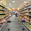 Tankstelle am Supermarkt