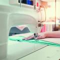Textilpflege am Friedensengel