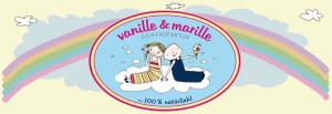 Logo vanille & marille Eismanufaktur Falk Rahn
