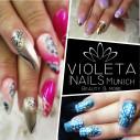 Logo Violeta Nails