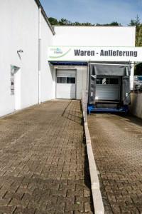 Waren-Anlieferung vitesca