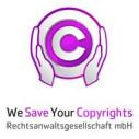 Logo WeSaveYourCopyrights Rechtsanwaltsgesellschaft mbH