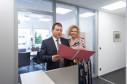 Rechtsanwalt Michael Wenni mit Sekretärin