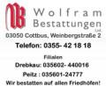 Logo Wolfram Bestattungen LTD