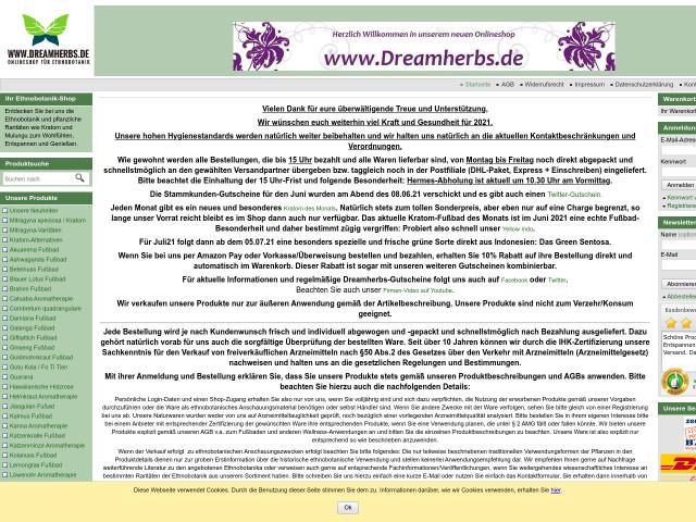http://www.dreamherbs.de