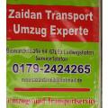 Zaidan Experte Transport&Umzüge